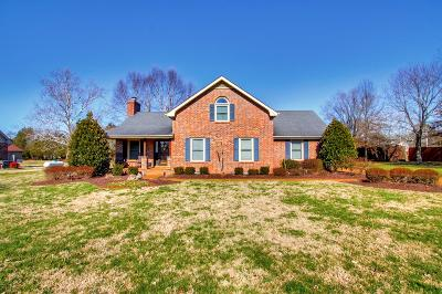 Mount Juliet Single Family Home Under Contract - Not Showing: 654 Shelley Dr