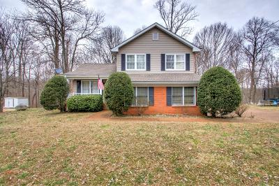 White House Single Family Home Under Contract - Showing: 1117 Stillhouse Rd