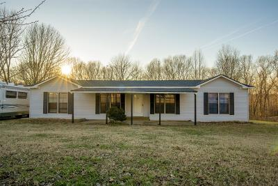 Ashland City Single Family Home Under Contract - Not Showing: 667 Bobbitt Rd