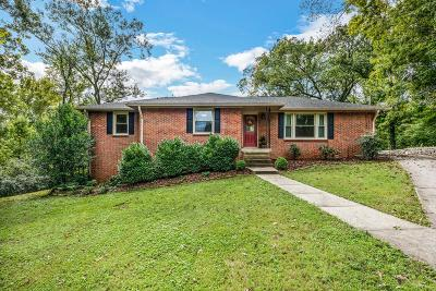Nashville Single Family Home Under Contract - Showing: 914 Downey Drive