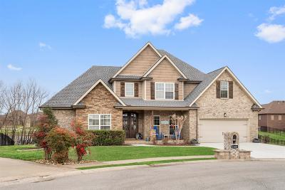 Clarksville Single Family Home Under Contract - Showing: 1508 Windsong Ct