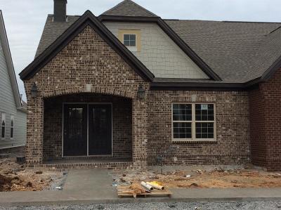 Nolensville Single Family Home For Sale: 406 Ivey Manor Dr, Lot #63