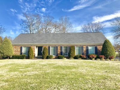 Lebanon Single Family Home Under Contract - Showing: 107 Bartonwood Dr