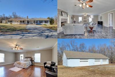 Palmyra Single Family Home Under Contract - Not Showing: 3000 Cannon Hills Rd