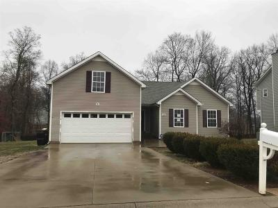 Clarksville Single Family Home For Sale: 1399 Jenny Ln