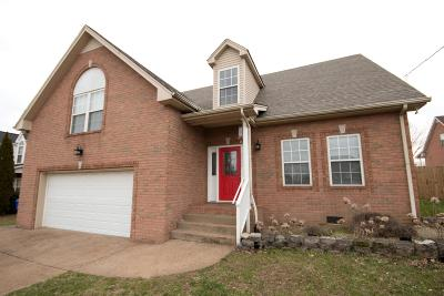 Robertson County Single Family Home Under Contract - Showing: 6004 Indian Ridge Blvd