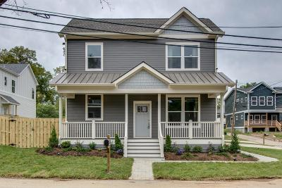 Nashville Single Family Home Under Contract - Not Showing: 2165 N 24th Ave