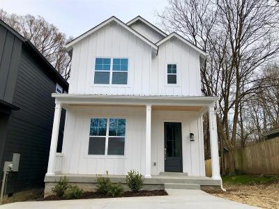 Nashville Single Family Home For Sale: 2026 B Rosemary Ln