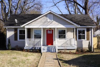 Nashville Single Family Home Under Contract - Not Showing: 907 Joseph Ave