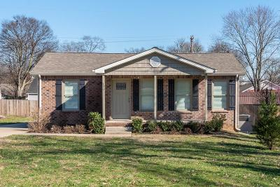 Goodlettsville Single Family Home Under Contract - Showing: 130 East Ave