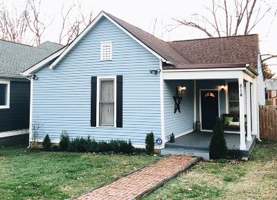 Nashville Single Family Home Under Contract - Showing: 814 N 2nd Street