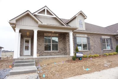 Gallatin Single Family Home For Sale: 1120 West Cavaletti Cir Lot 243