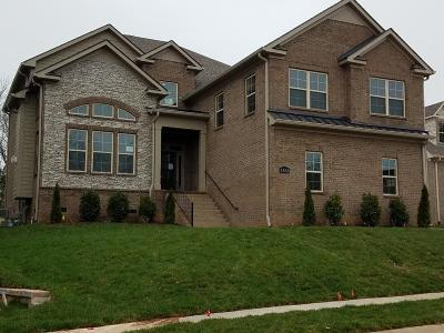 Nolensville Single Family Home Under Contract - Showing: 1656 Eden Rose Pl