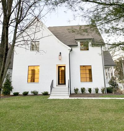 Nashville Single Family Home For Sale: 2468 Abbott Martin Rd