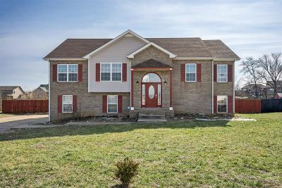 Clarksville Single Family Home Under Contract - Not Showing: 1508 Big Sam Ct