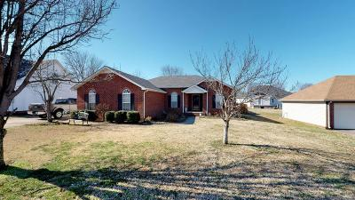 Single Family Home Under Contract - Not Showing: 3311 Dibrell Ct