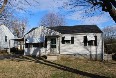 Maury County Single Family Home Under Contract - Showing: 1919 Paul Dr