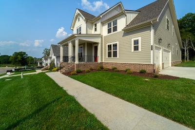Nolensville Single Family Home For Sale: 604 Dunmeyer Court Lot 93