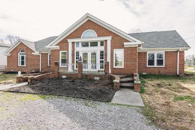 Gallatin Single Family Home For Sale: 1443 Long Hollow Pike