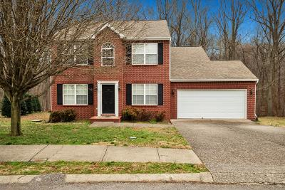 Robertson County Single Family Home Under Contract - Not Showing: 152 Sundance Way