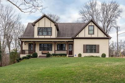 Nashville Single Family Home Under Contract - Showing: 1111 Brookmeade Dr