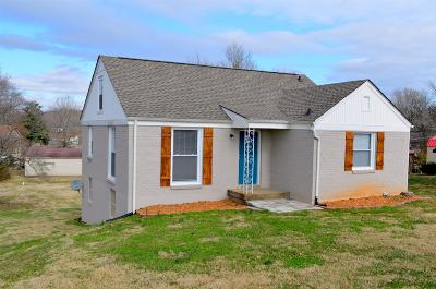 Clarksville Single Family Home For Sale: 1717 Haynes St