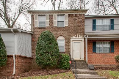 Davidson County Condo/Townhouse For Sale: 1290 Massman Dr