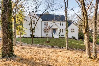 Nashville Single Family Home For Sale: 807 Brook Hollow Rd