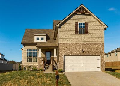 Spring Hill Single Family Home For Sale: 4012 Oxford Place #237cumberlan