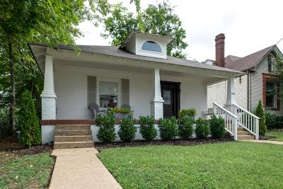 Nashville Single Family Home For Sale: 1018 S 15th Ave