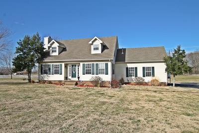 Robertson County Single Family Home For Sale: 6938 Hall Rd