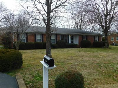 Lewisburg Single Family Home For Sale: 1020 Midway St