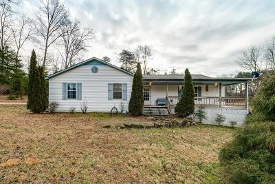 Cookeville Single Family Home For Sale: 3702 Bunker Hill Rd