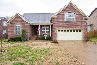 Mount Juliet Single Family Home For Sale: 619 Masters Way