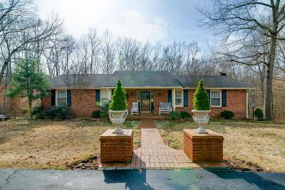 Ashland City Single Family Home For Sale: 1090 Triangle Rd.