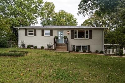 Franklin TN Single Family Home For Sale: $424,500