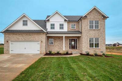 Clarksville Single Family Home Under Contract - Showing: 95 Wellington Fields
