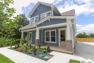 Sylvan Park Single Family Home For Sale: 554 Acklen Park Drive