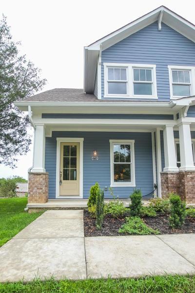 Sylvan Park Single Family Home For Sale: 556 Acklen Park Drive