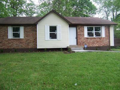 Clarksville Single Family Home Under Contract - Not Showing: 404 Buckeye Ln