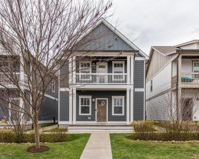 Nashville Single Family Home Under Contract - Showing: 1813 7th Ave N Unit 102