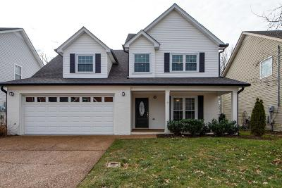 Franklin TN Single Family Home Under Contract - Showing: $414,900