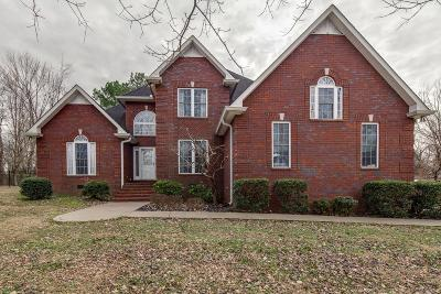 Robertson County Single Family Home Under Contract - Showing: 4575 Yates Rd