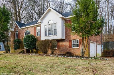 Mount Juliet Single Family Home For Sale: 562 Wilson Dr