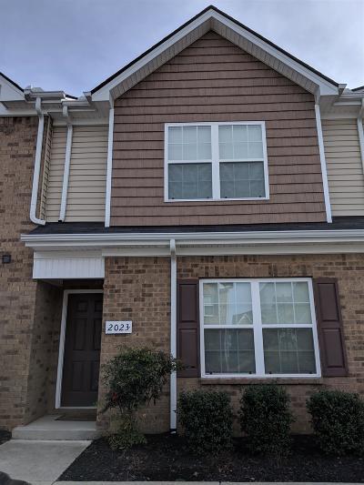 Murfreesboro Condo/Townhouse For Sale: 2023 Debonair Ln
