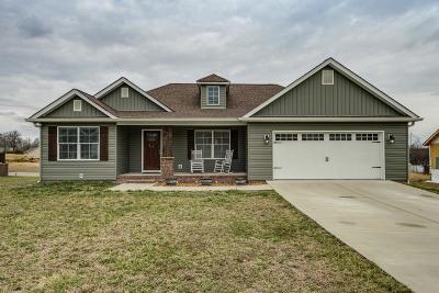 Cookeville Single Family Home Under Contract - Not Showing: 4525 Hensley Drive