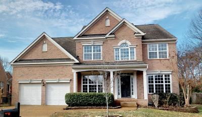 Franklin Single Family Home For Sale: 731 Braemere Dr