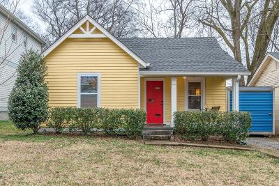 Nashville Single Family Home Under Contract - Not Showing: 1115 B North 7th St