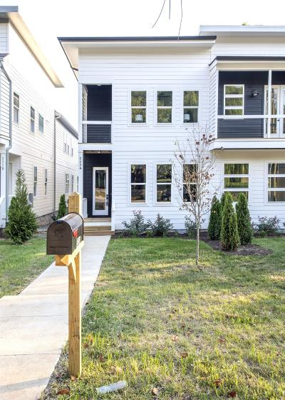 Nashville Single Family Home Under Contract - Not Showing: 523 B Wedgewood Ave