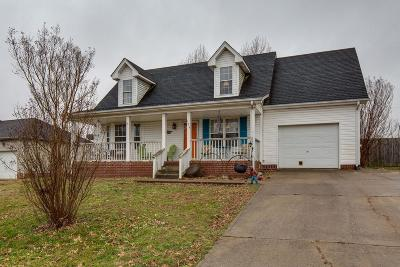 Goodlettsville Single Family Home Under Contract - Not Showing: 104 Amelia Ct
